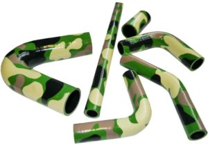 camouflage silicone hoses