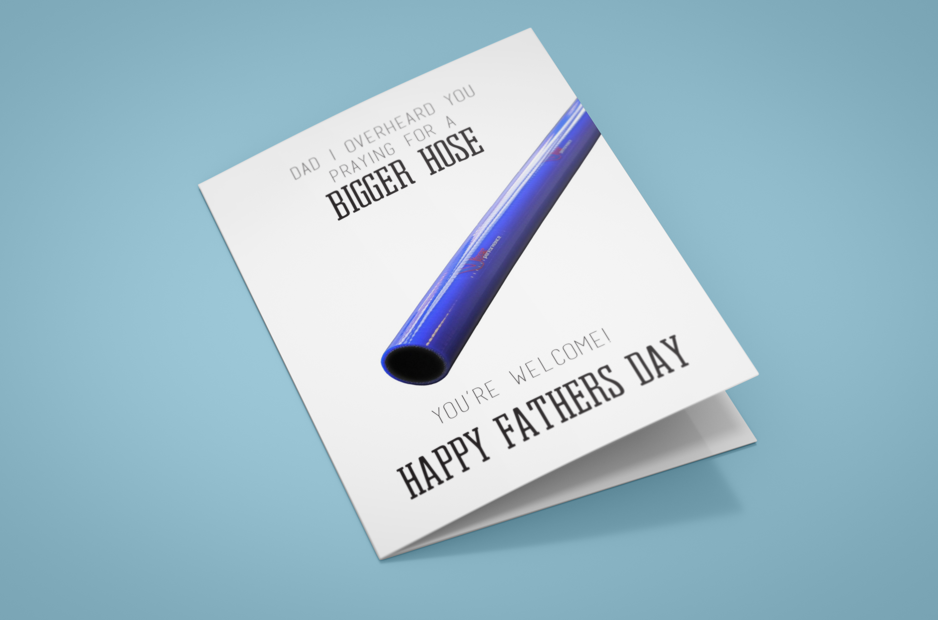 Funny Free Fathers Day Card