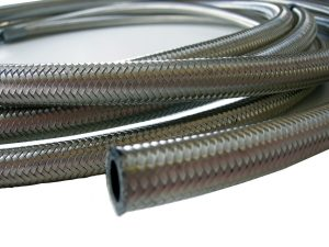 nitrile stainless steel fuel hose