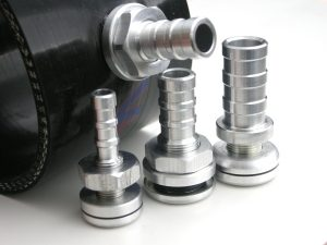 Hose take offs in different sizes