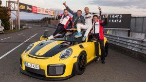 Lars Kern driving Porsche 911 GT2 RS