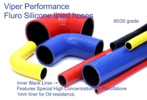oil resistant silicone hoses