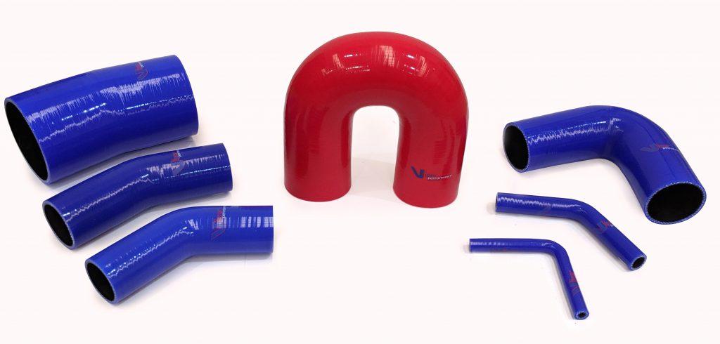 Silicone hose elbows