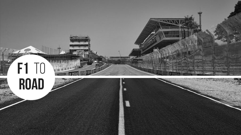 f1 to road