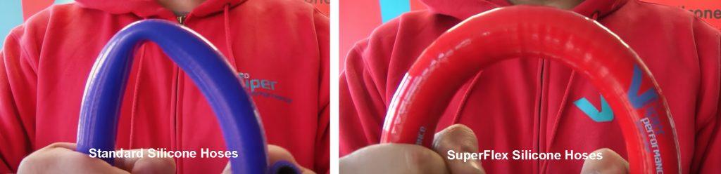 bending a silicone hose